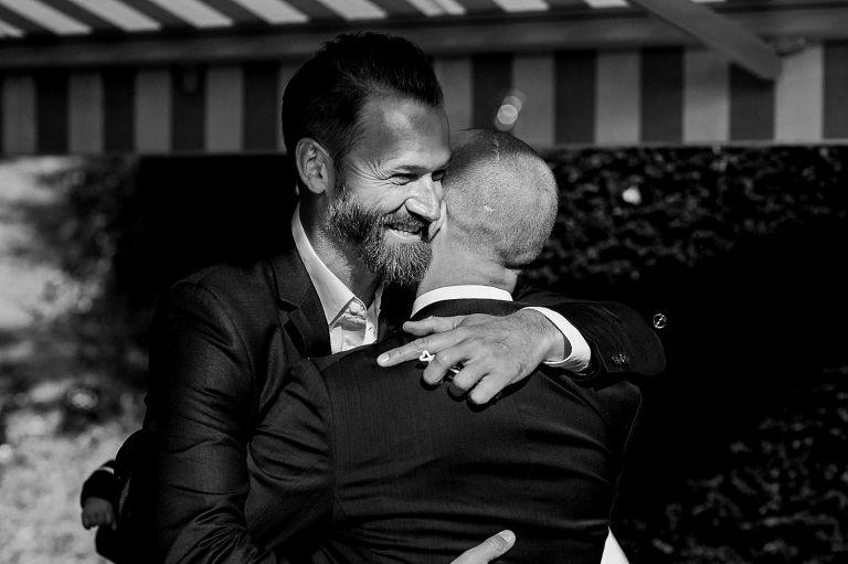 Gratulation Bräutigam und Freund