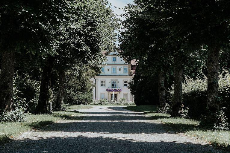 Allee zum Schlosshotel