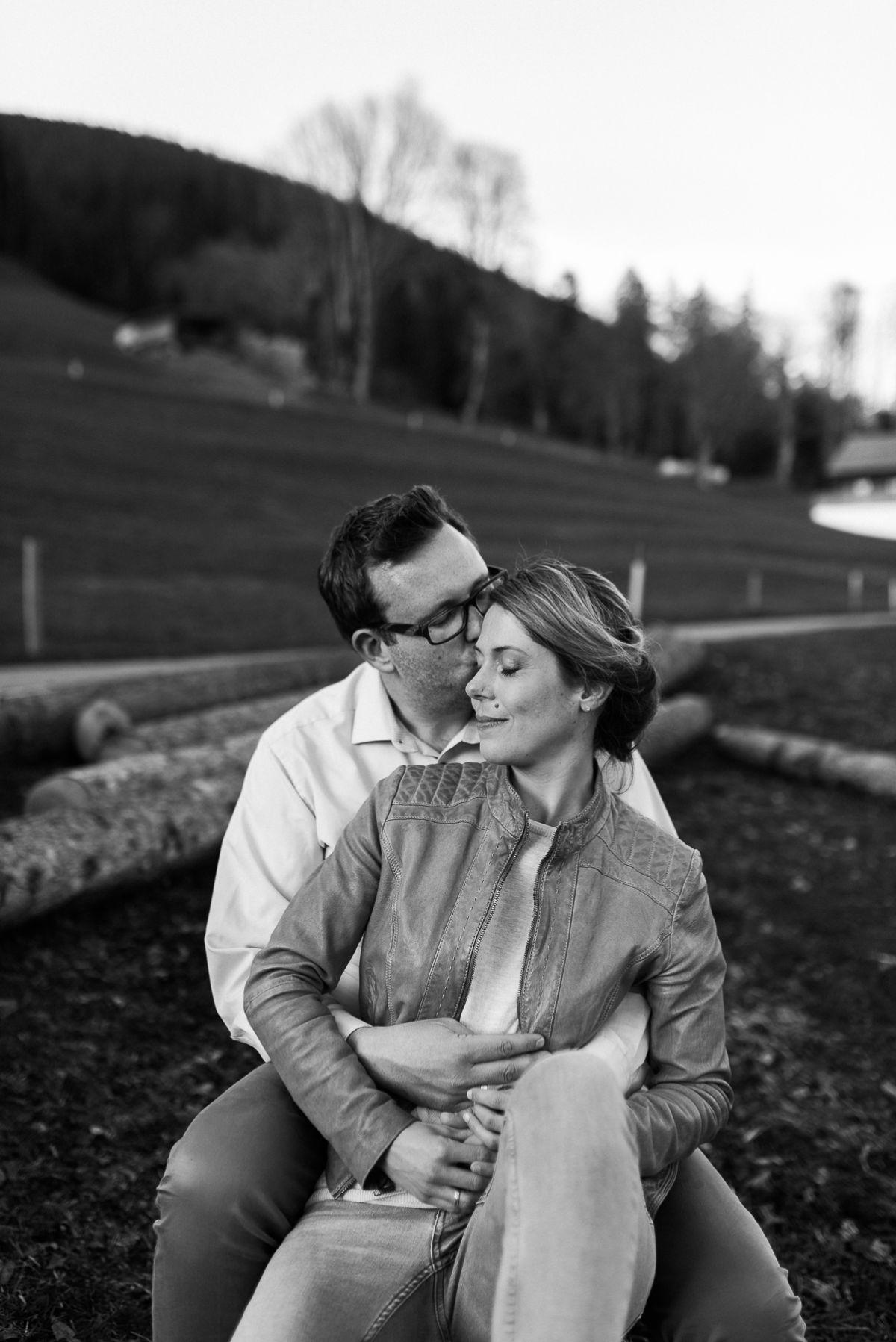 Paarshooting in Interlaken in der Schweiz