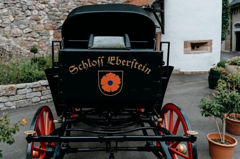 Kutsche am Schloss Eberstein